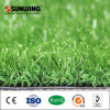El patio planta el suelo que ajardina la hierba artificial