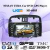 Jugador del coche DVD GPS para Nissan Tiida