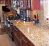 Santa Cecilia comptoirs de granit / comptoir de granit (YYL)