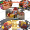 安い遊園地の回転乗子供の回転平面の乗車(plane01)