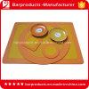 6p 3D pvc van uitstekende kwaliteit Table Mat van Standard