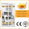 Prezzo di alluminio personalizzato del portello scorrevole di disegno di vetro (SC-AAD019)