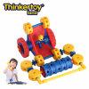 Cochecillo educativo del apretón de los vehículos de la ingeniería de la serie del coche del juguete de los bloques de la tierra de Thinkertoy (C6403)