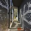 Panneau en aluminium perforé creux architectural avec revêtement PVDF/PE