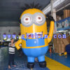膨脹可能なCartoon ModelかSmall Yellow People Inflatable Cartoon