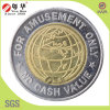 Best Sales 2 Color Brass Token Coins