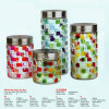 다채로운 Glass Storage Jar 및 Canister