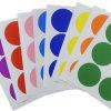 De kleefstof kleurde Etiket, de Ronde Sticker van het Document van de PUNT, Zelfklevende Decoratieve Sticker