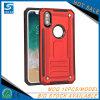 Cubierta de alto impacto de la caja del teléfono de los accesorios para el iPhone X