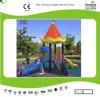 Небольшой Kaiqi CE утвердил замок с использованием набора слайдов для детей игровая площадка для установки вне помещений (KQ35041A)