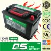 DIN-55415 12V54AH Maintenance Free 자동차 배터리를 위한 추가 편익 건전지