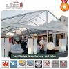 Tentes carrées en gros de mariage avec les flancs clairs de PVC à vendre