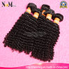 等級7A Highquality 100%年のVirgin RemyブラジルのKinky Curl Human Hair Extention