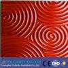 As ondas gravaram o Paneling decorativo da parede 3D