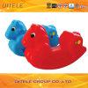 Hobbelpaard van het Stuk speelgoed van jonge geitjes het Plastic (PT-044)