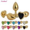 熱い販売法の小型のステンレス製の金属の宝石類の肛門のバットはGS0302を差し込む