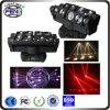 8 luz principal móvil de la araña LED del PCS 4in1 RGBW