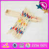 2015 малышей Colorful Wooden Mikado Game Set, Outdoor Wooden Stick Game Mikado, Wooden Pick вверх по Stick Game Mikado Game в Bulk W01b015