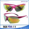 Proteção UV revestimento da estrutura do PC do estilo de moda esportiva de lentes de óculos de sol