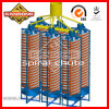 Chute a spirale Mineral Separation Machine Gold Mining Equipment da vendere