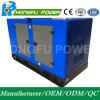 De eerste ElektroGeneratie Genset van de Macht van de Macht 75kw/94kVA Geluiddichte met de Motor van Shangchai Sdec