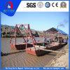 海またはまたは湖の働きのための中国の製造業者のディーゼル機関の金鉱山の浚渫船は裂く