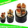 300/500V cable électrique de cuivre flexible de noyau du conducteur 4 25mm