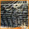 Сталь металла алюминиевой петли верхняя трубчатая ограждая при покрынный порошок