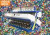 Haustier Belüftung-Farben-Sorter-Maschine des optischer Plastikpp.