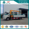 8 Ton XCMG Straight Crane를 가진 Dongfeng 4X2 Cargo Truck