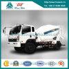 Carro de poca potencia 5-6 Cbm del mezclador concreto del cemento de Cdw 4X2 190HP
