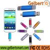 azionamento doppio su ordinazione dell'istantaneo del USB del telefono mobile OTG di marchio 4-64GB