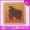 2015 Jeu de puzzle en bois d'animaux de l'éducation Toy, Cute monkey puzzle en bois jouet Deisgn Kids, de promotion Animal Puzzle en bois W14C162