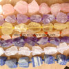 Semi Precious Stone Fashion Crystal Rough Gemstone Bead Jewelry (ESB01710)
