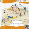 大きいサイズの子供の外の上昇の運動場のスライド