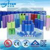 18650 26650 batería recargable de la batería de ion de litio LiFePO4 con la certificación del kc y la certificación del Bis