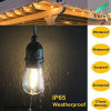 Indicatore luminoso esterno all'ingrosso della stringa della decorazione S14 LED di natale impermeabile con S14 E27