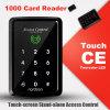 スタンドアロン125kHz RFIDはタッチ画面のキーパッドが付いている近いドアのキーパッドを開く
