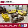 Estilo americano moderno sofá de couro genuíno para mobiliário doméstico (como846)