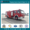 Camion de lutte contre l'incendie de HOWO 4X2 avec le réservoir de l'eau 8000L