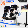 Owatch 9D Cine Vr silla Huevo 2 asientos simulador de máquina de juego de realidad virtual precio de fábrica