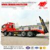 30 de ton 8X4 gebruikte de Lage Flatbed Vrachtwagen van de Container van de Lader
