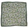 100% Silk Chiffon Fashion Square Scarf