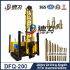 Hard Rocksのための200m Pneumatic DTH Hammer Water Drilling Machinery