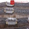 人間の毛髪の織り方のブラジルクリップ