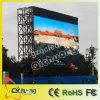 巨大な表示画面を広告するP10 LED