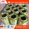 Bride jaune de soudure de l'acier du carbone de peinture DIN86030