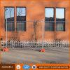 販売のための容易なアセンブリAnti-Rust電流を通された鋼鉄一時塀