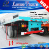 Aotong 40 ' Flatbed Container Semitrailer mit Lifting Axles