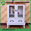 Gabinete de armazenamento de madeira da mobília da sala de visitas (W-CB-419)